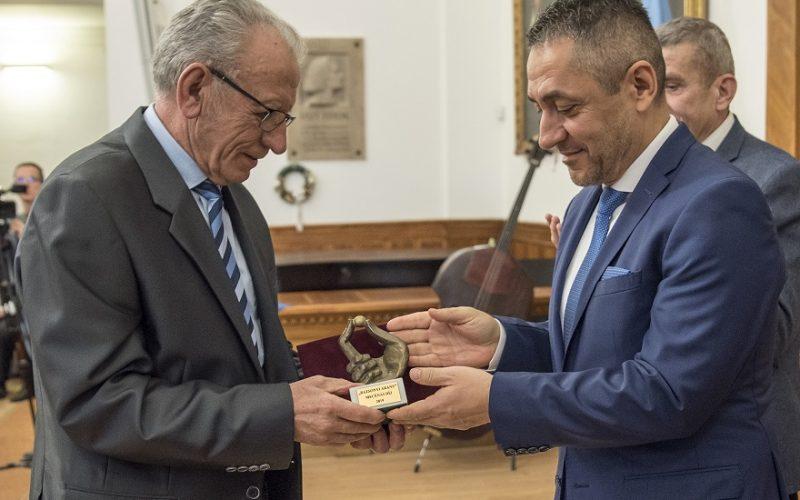 Bazsonyi Arany Mecénás – díjat vehetett át Sebestyén Lajos kamarai tagunk